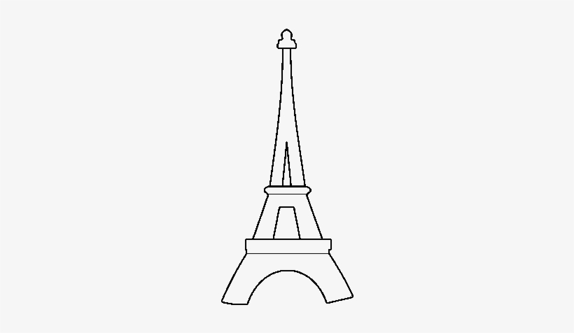 - Eiffel Tower Coloring Template - Free Transparent PNG Download - PNGkey