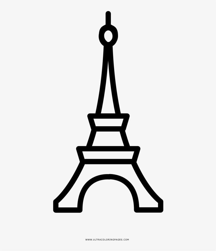 Download Dibujos Torre Eiffel De Paris Sketch Coloring Page - Eiffel Tower  PNG Image With No Background - PNGkey.com