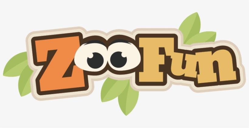 Zoo Fun Scrapbook Svg Title Zoo Fun Svg Scrapbook Title - Zoo Scrapbook Clipart, transparent png #4008043