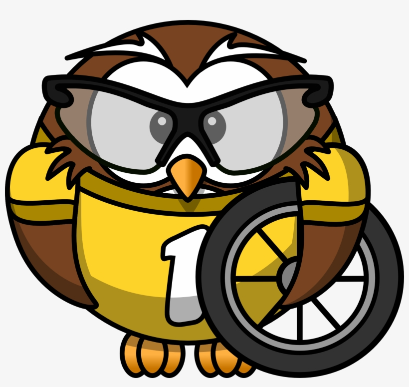 Free Download Cycling Owl Throw Blanket Clipart Cycling Gambar