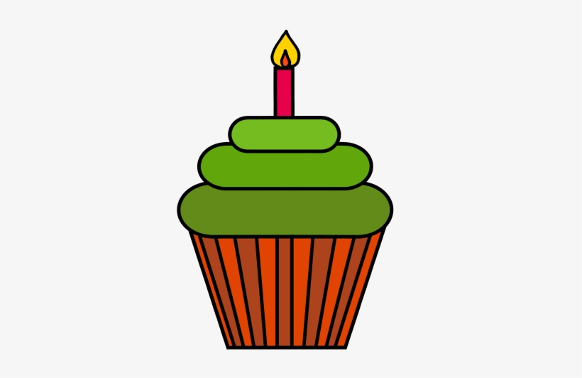 Color Cupcakes Clip Art Mrs Ks Clip Art And More - Hot Air Balloon Black And White, transparent png #4008999
