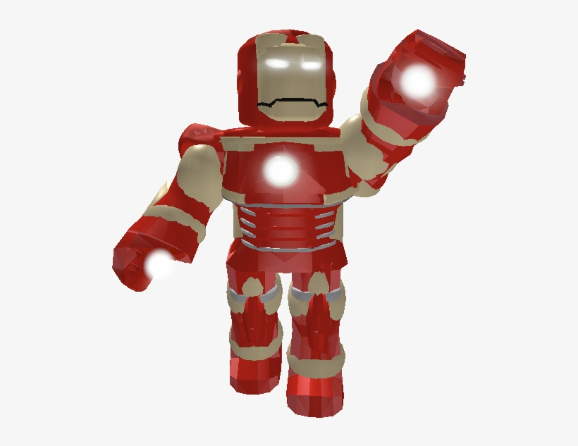 Iron Man Roblox Iron Man Suit Free Transparent Png Download Pngkey