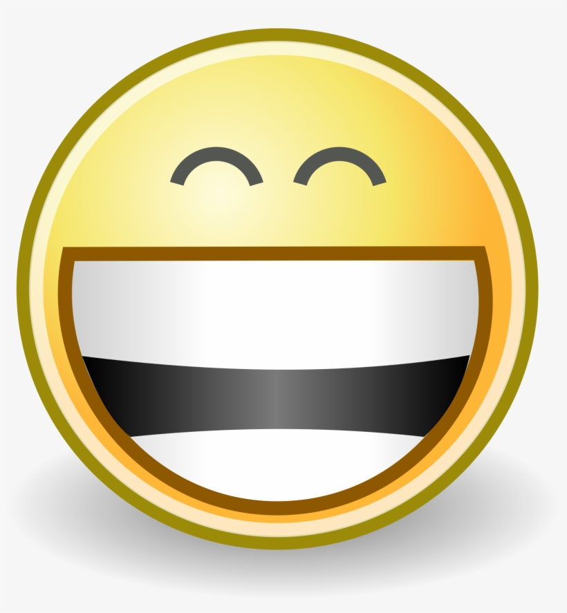 Facial Expression Clipart Smiley Emoticon Grin Face - Grin Smiley, transparent png #4009135