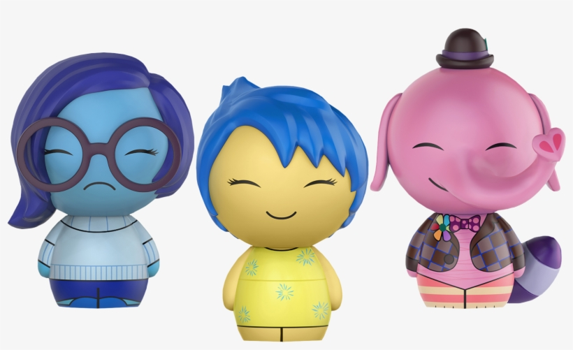 Inside Out - Funko Bing Bong, transparent png #4010860