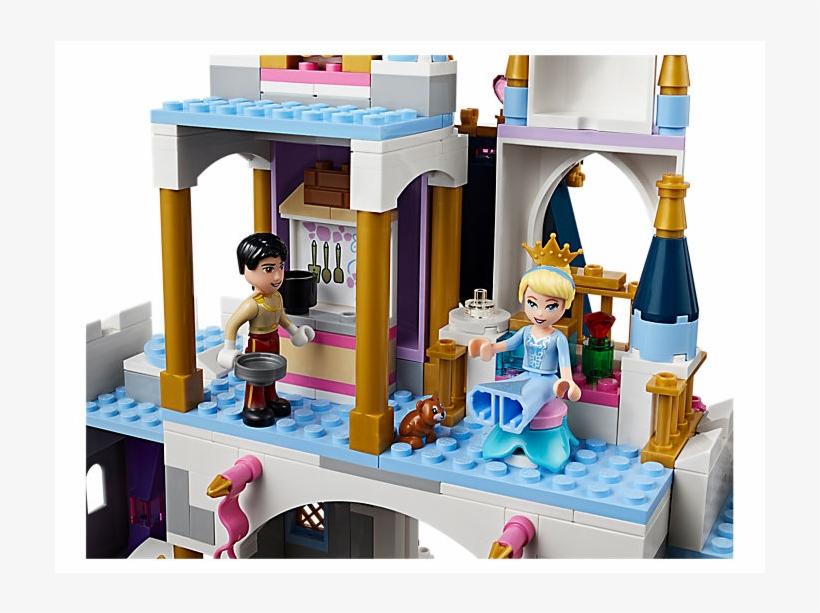 Cinderella's Dream Castle - Lego Disney Cinderella's Dream Castle, transparent png #4011184