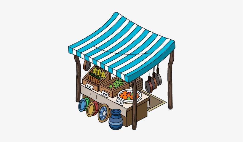 Tent Clipart Bazaar - Bazaar Stall - Free Transparent PNG Download