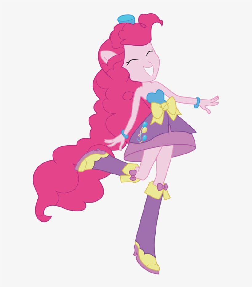Pinkie Pie Images Pinkie Pie Equestria Girls Vector - Equestria Girls Pinkie Pie Dress, transparent png #4012924