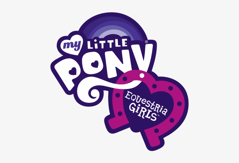 Vectors, Psd, Logo And Icons - My Little Pony Equestria Girls Logo, transparent png #4013063