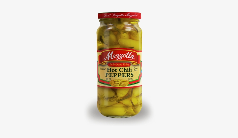 Hot Chili Peppers - Mezzetta Hot Chili Peppers, transparent png #4015229