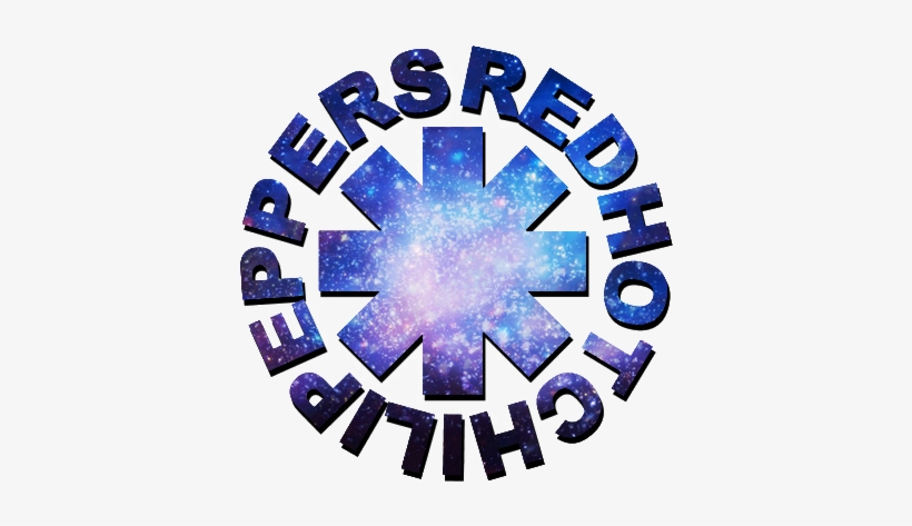 Space Red Hot Chili Peppers Rhcp Logo Anthony Kiedis - Simbolo Red Hot Chili Peppers Png, transparent png #4015347