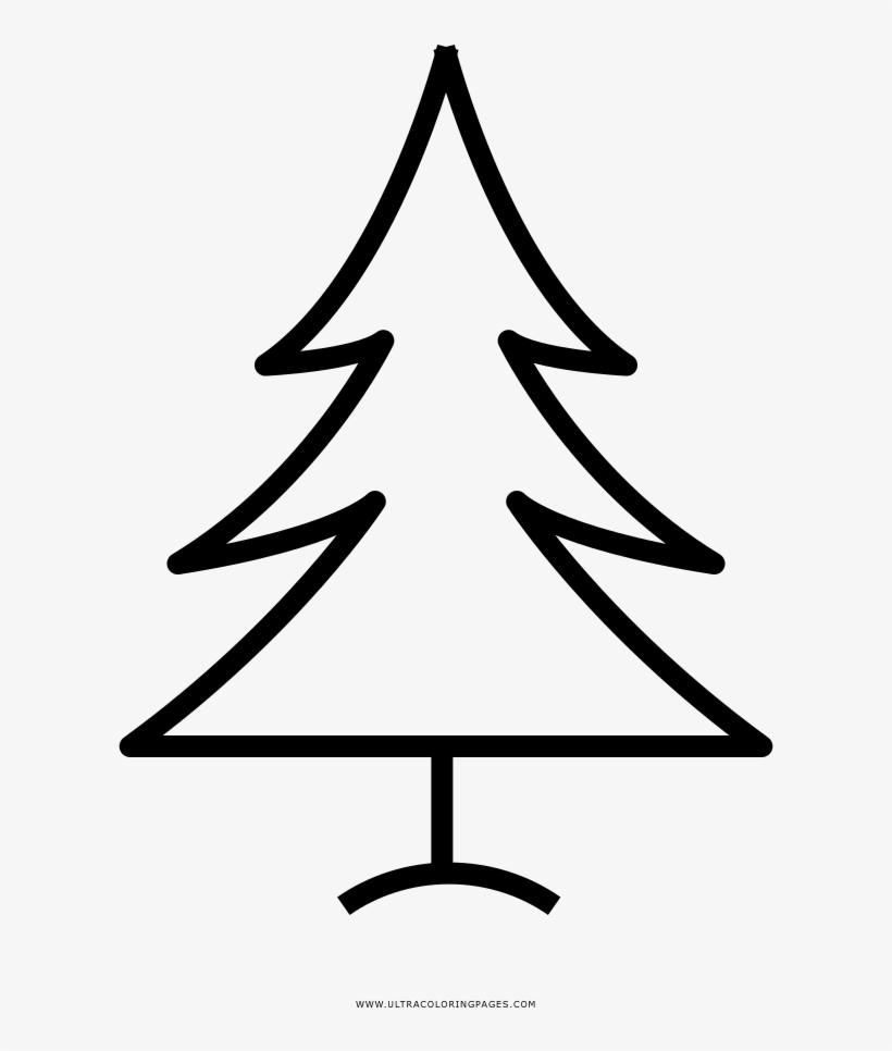 Arvore De Natal Desenho Para Colorir Christmas Tree Free