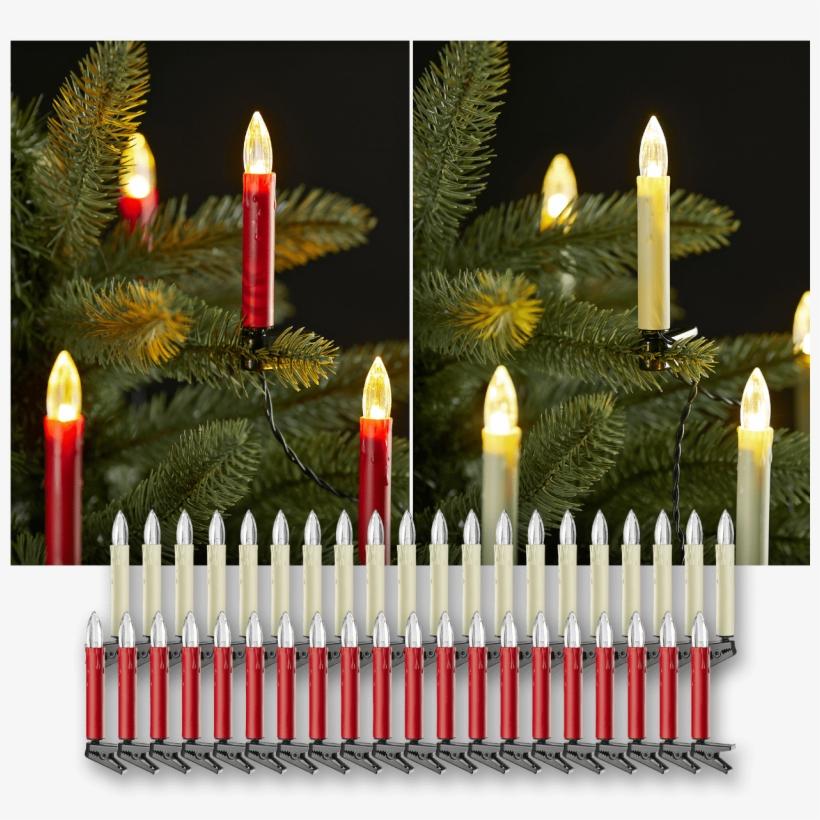 Corrente De Luzes Led - Christmas Tree, transparent png #4016943