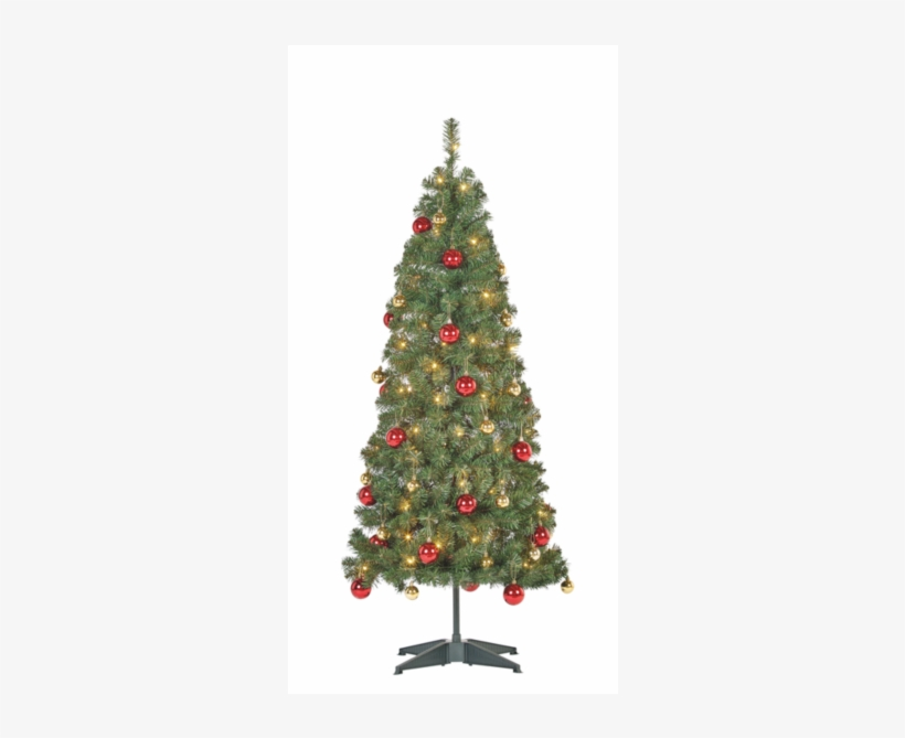 5ft Pop Up Pre Lit Led Christmas Tree - Christmas Day, transparent png #4019844