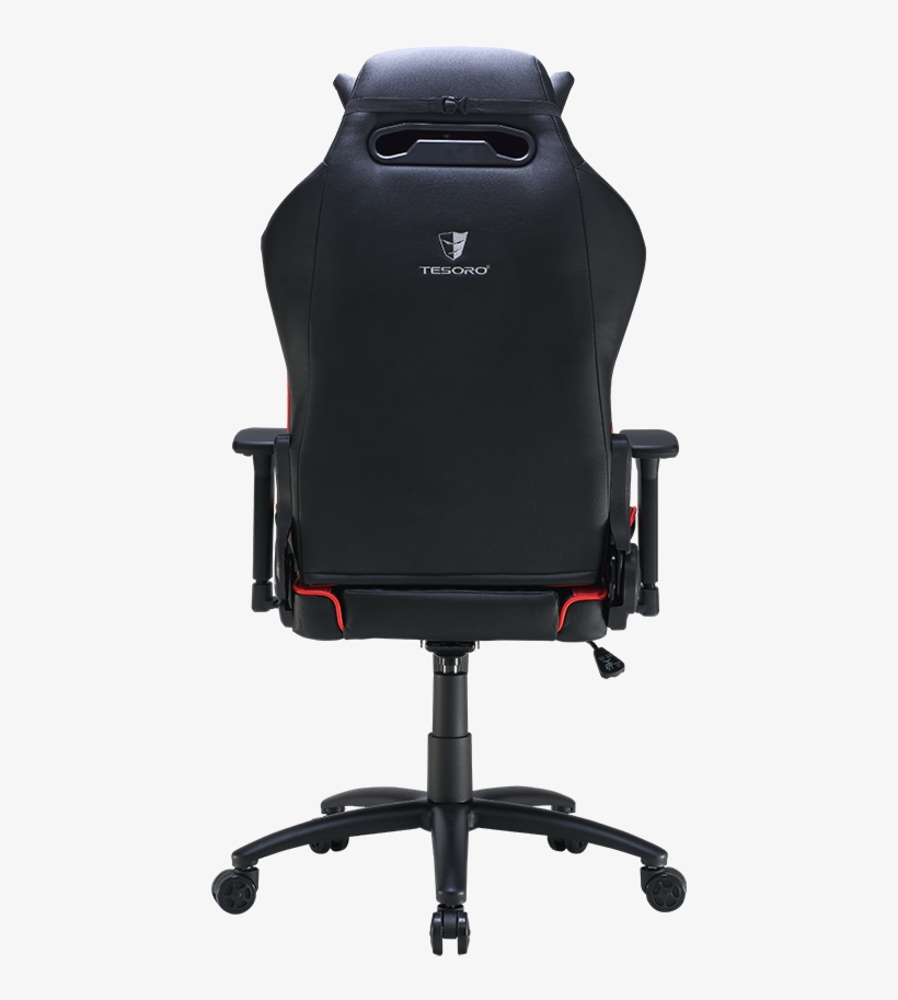 F710 Red P02 20161115 - Tesoro Zone Balance Gaming Chair Ts-f710 (rd), transparent png #4019913