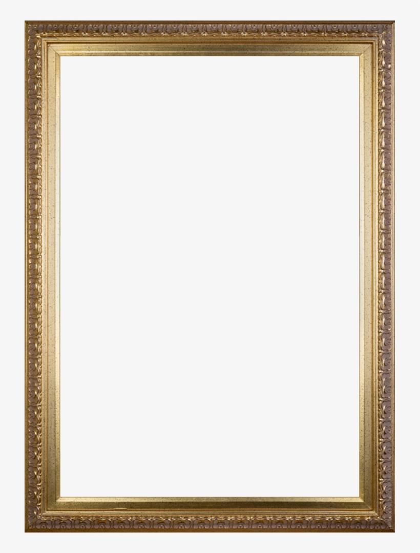 """Elegant Gold Frame - Artist's Wife - Elegant Gold Frame 8""""x10"""", transparent png #4020439"""