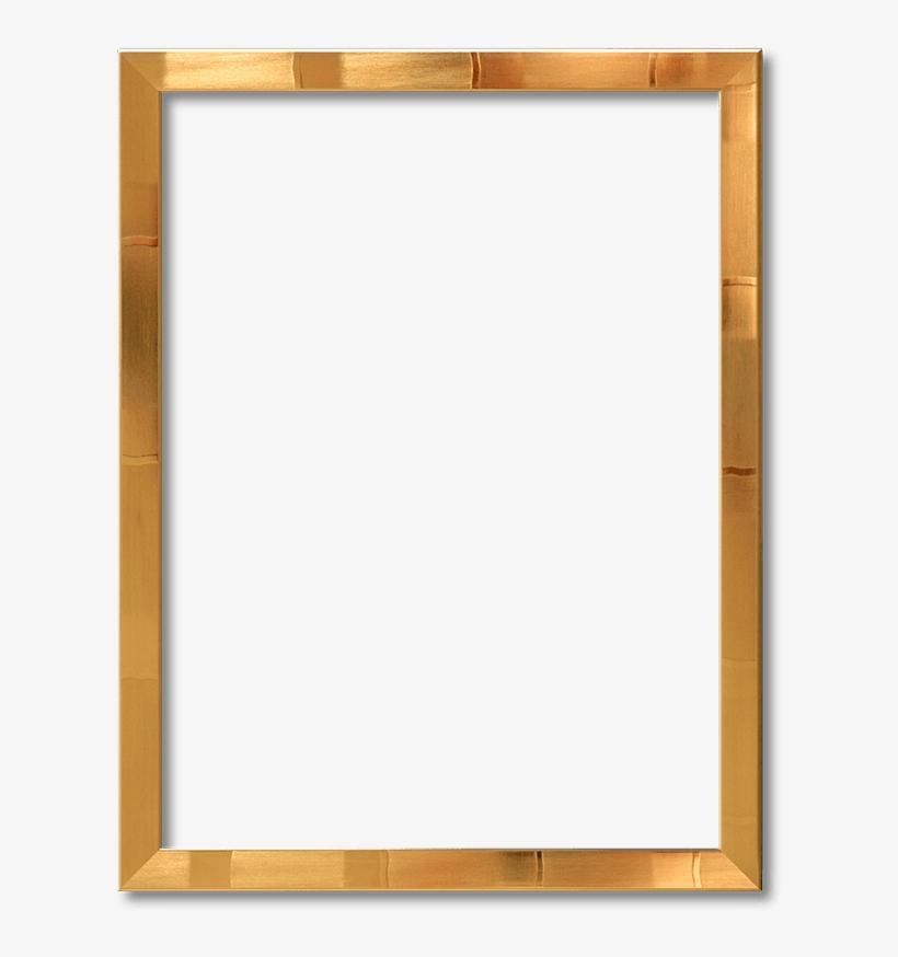 38mm Brushed Bronze Frame - Wood Frame Clipart Png, transparent png #4020758