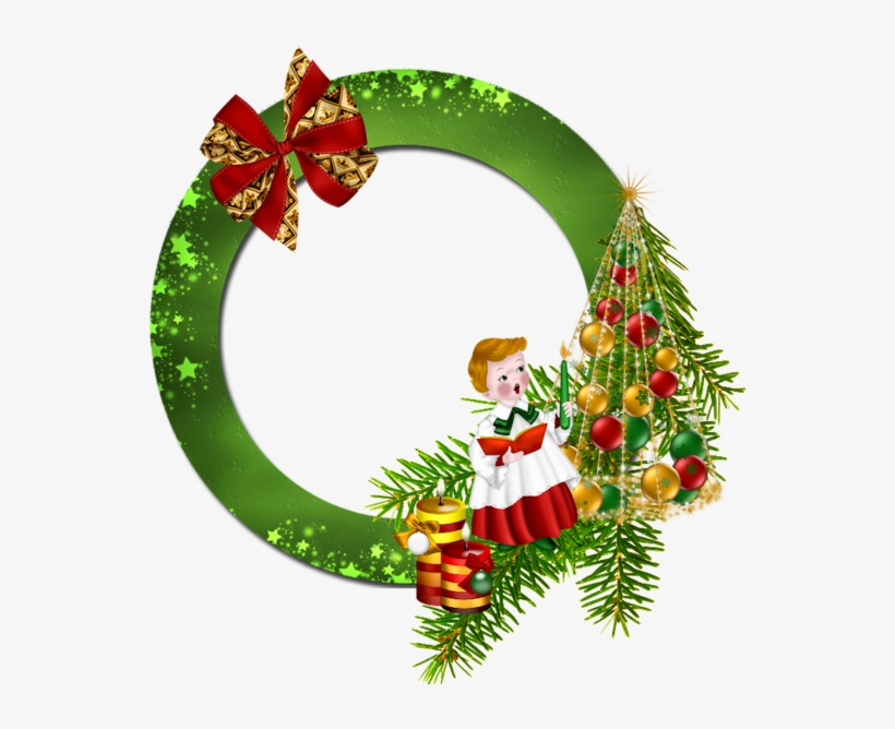 0, - Round Frame Christmas Png, transparent png #4020825
