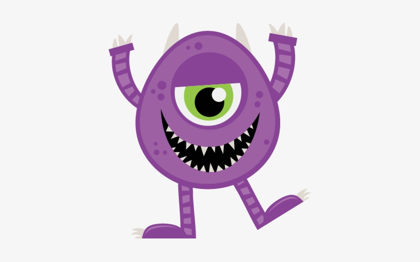 Halloween Monster Svg Scrapbook Cut File Cute Clipart Free Transparent Png Download Pngkey