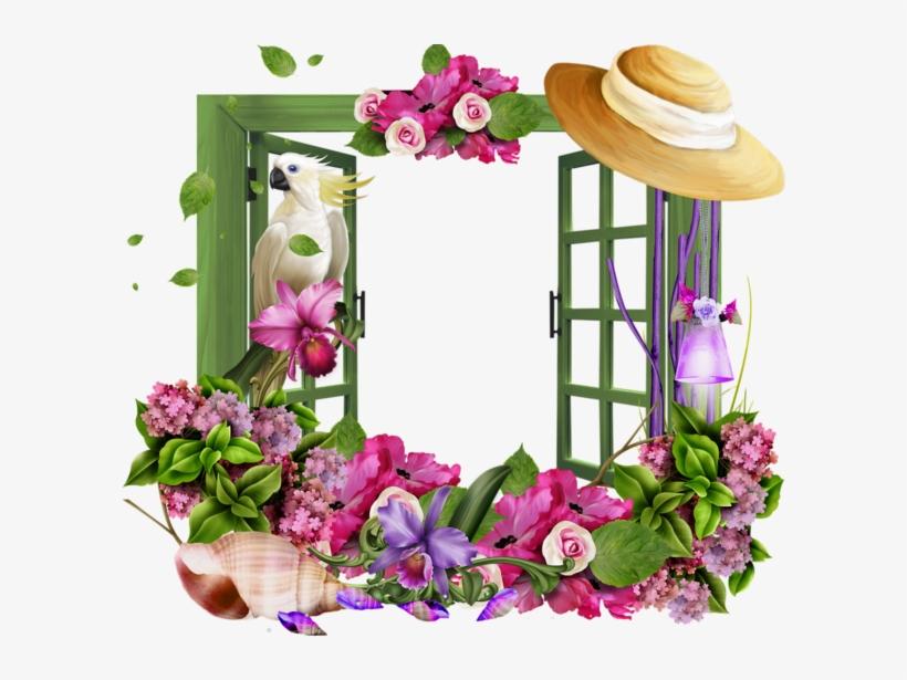 Image Du Blog Zezete2 Png Flower Gif Frame Free Transparent Png