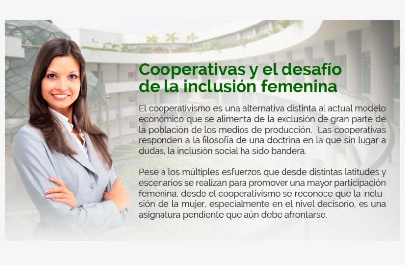Por Inclusión Social Se Entiende La Lucha Contra La - Dia De La Mujer Cooperativista, transparent png #4038893