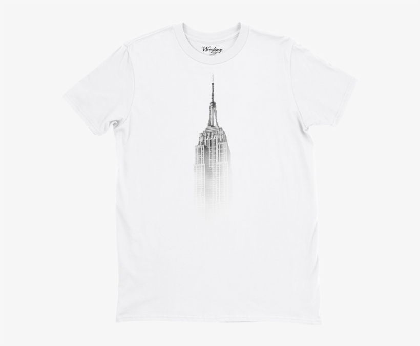 Empire State Of Mind Tee - Gs Cadre Plexi 21x29 Cm New York City Empire State, transparent png #4040029