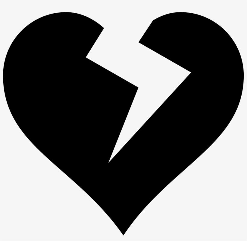 Heart Broken - - Broken Heart Vector Png, transparent png #4042326