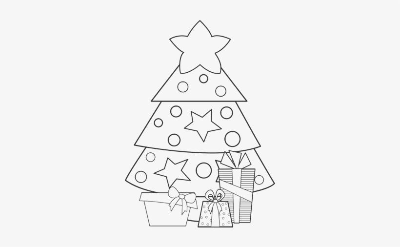 Dibujo De Regalos De Navidad 2 Para Colorear Dibujos De