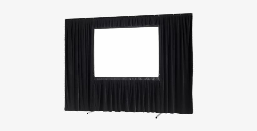 Hay Dos Tipos De Sets De Cortinas - 6 X 8 Fastfold Screen, transparent png #4044481