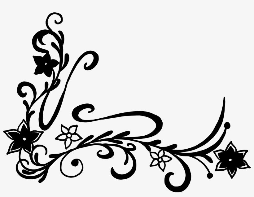floral corner vector png portable network graphics free transparent png download pngkey floral corner vector png portable