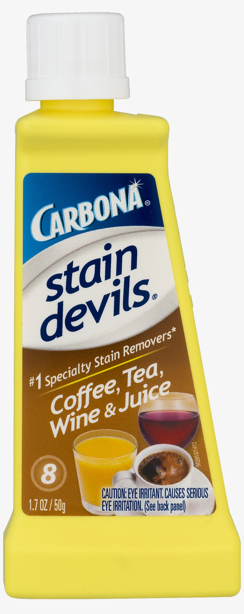 Carbona Stain Devils 8 Wine, Tea, Coffee & Juice Stain - Carbona Stain Devils 8 - Wine, Tea, Coffee, transparent png #4045664