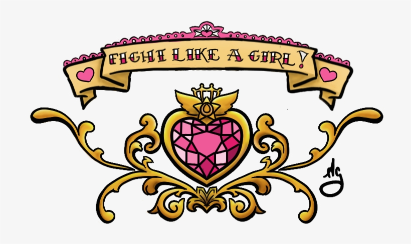 Fight Like A Girl Lower Back Piece By Miss-ag Pluspng - Fight Like A Girl Sailor Moon Tattoo, transparent png #4047154
