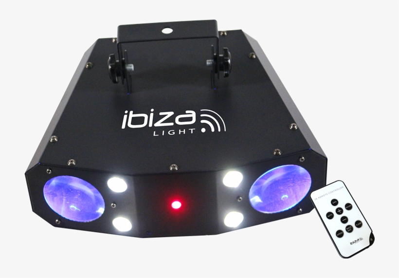 Moonflower Strobe Laser Combination Irc Combo 3in1 - Led Effect Light Ibiza Light Combo 3in1 No. Of Leds:60, transparent png #4047261