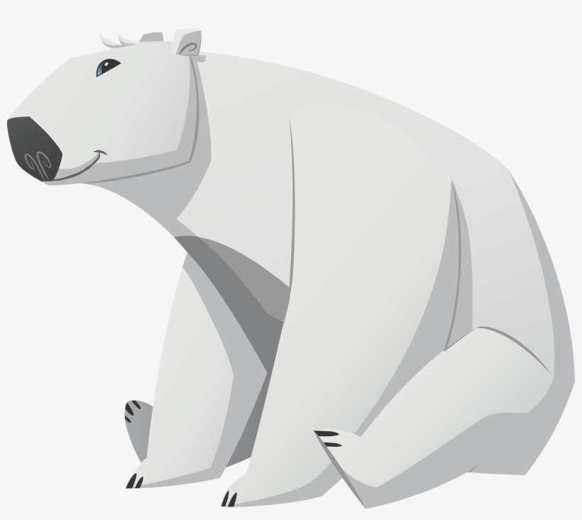 Polar Bear Free Transparent Images - Animal Jam Animals Polar Bear, transparent png #4054687