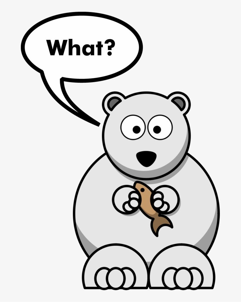 Funny Polar Bear Joke Bear Drawing Easy Cute Free Transparent