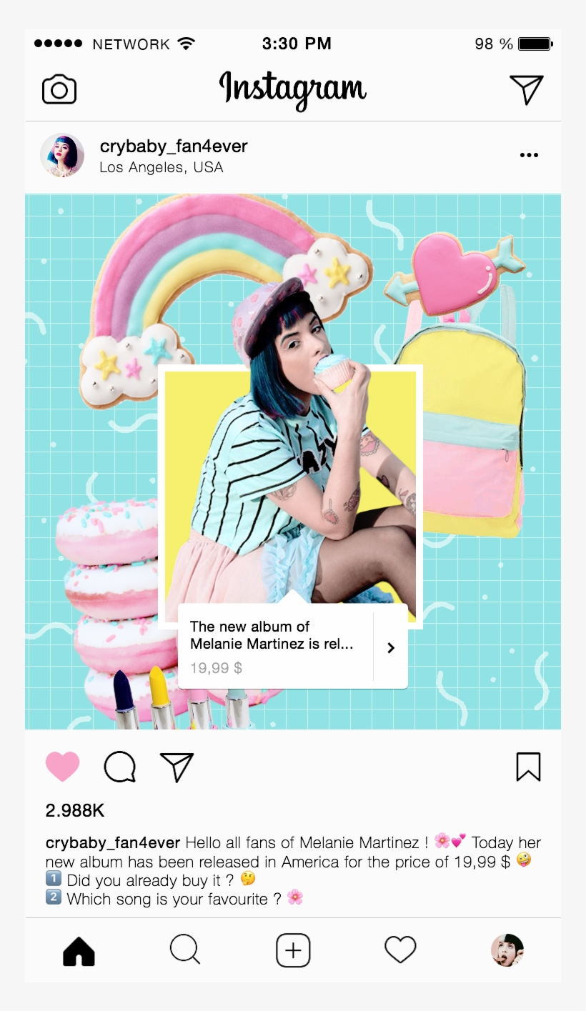 Template Instagram Free Transparent Png Download Pngkey