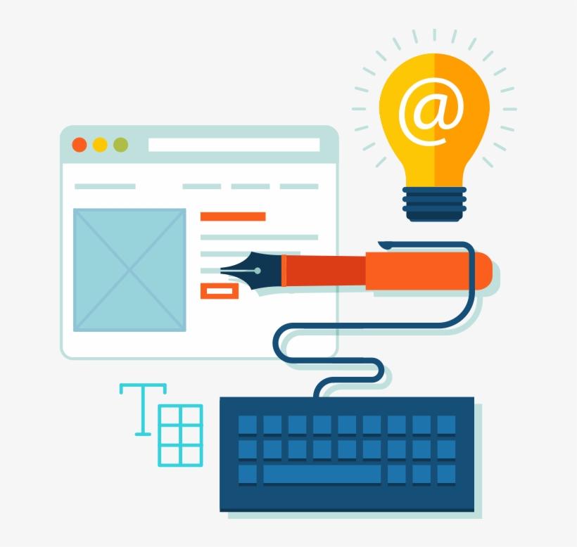Email Marketing Clipart Transparent - Designers Creative Website, transparent png #4055858