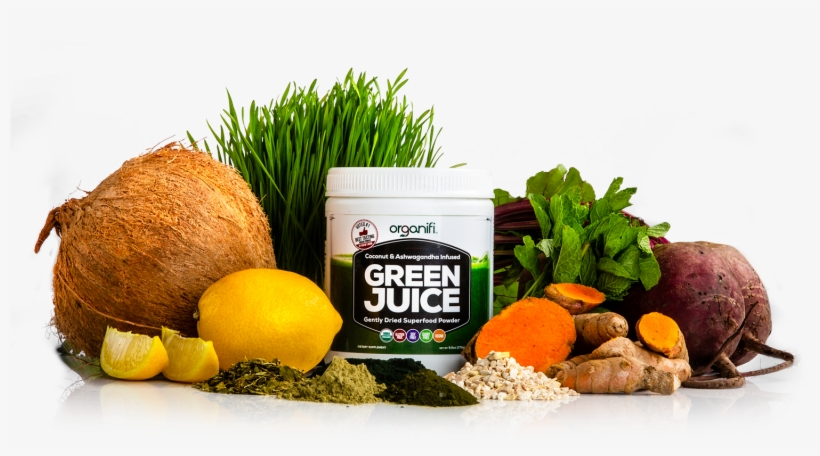 Now You Can Get All Your Healthy Superfoods In One - Organifi Llc Green Juice 30 Powder, transparent png #4059735