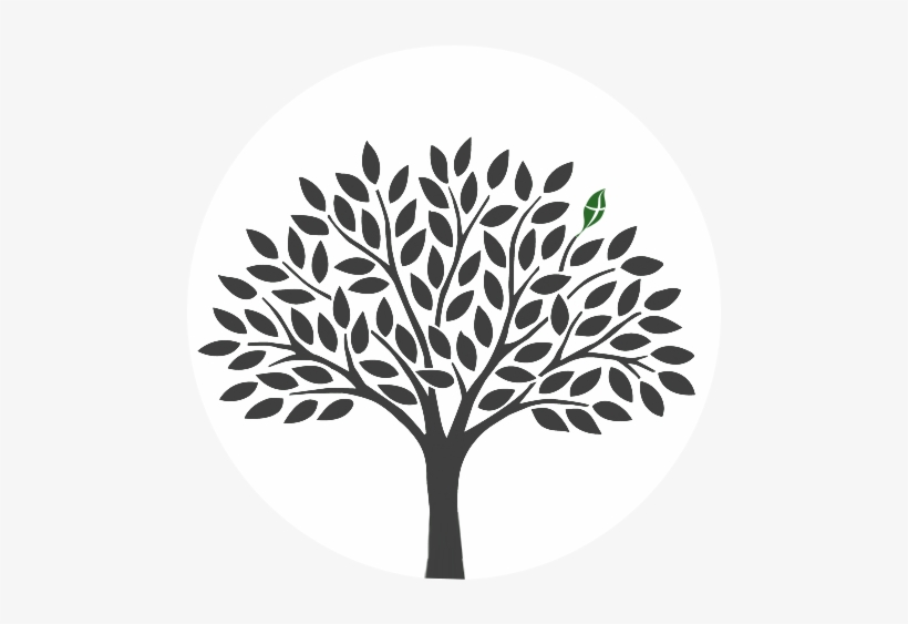Vector Clipart Tree Of Life Black And White Free