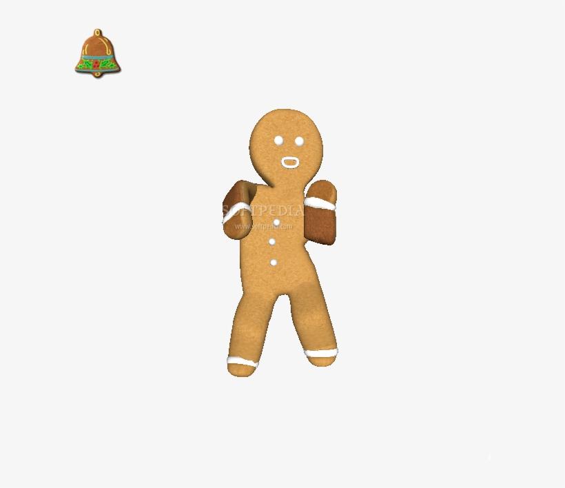 Shrek Gingerbread Man Gif - Gingerbread Man Dance Gif, transparent png #4060830