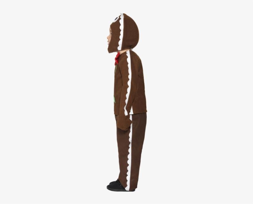 Child Little Ginger Man Costume Jokers Masquerade - Ginger Bread Man Costume, transparent png #4061506