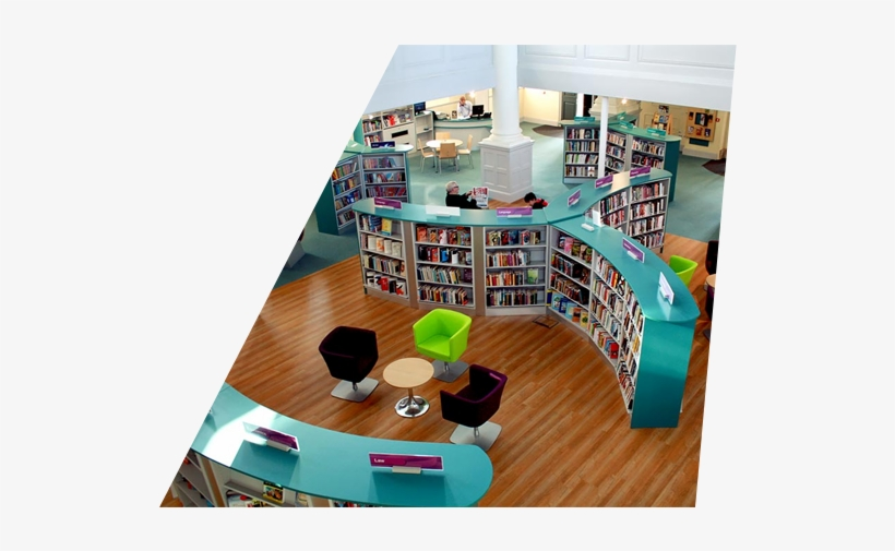 Planning A Project Contact Us - Modern School Library Spaces, transparent png #4061806
