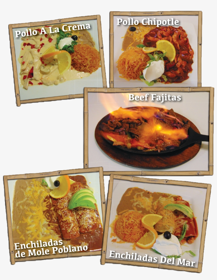 Dinner Specialty Dishes - El Paraiso Family Mexican Restaurant, transparent png #4062371