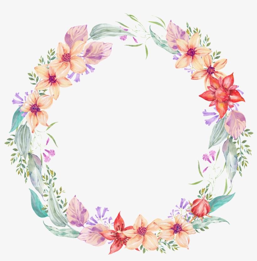 Garland Transparent Delicate Flower Corona De Flores Png Free