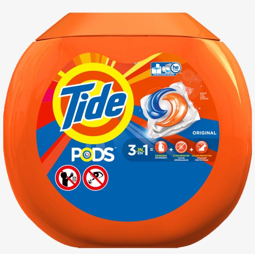 Tide-pods Tub - Tide Pods 81 Count, transparent png #4062856