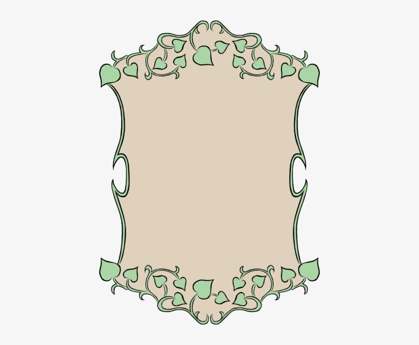 Garden Sign Ivy Border Clip Art Garden Sign Clip Art Free
