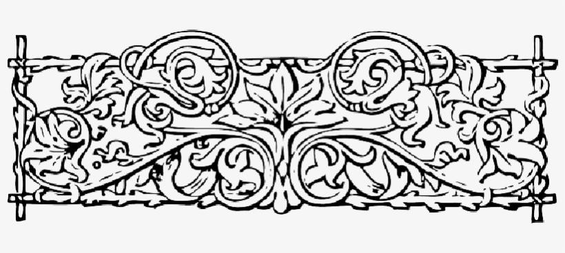 Drawn Vine Transparent - Decorative Borders Vines, transparent png #4070010