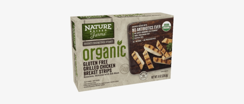 Natureraised Farms® Organic Grilled Chicken Breast - Nature Raised Farms Grilled Chicken, transparent png #4070846