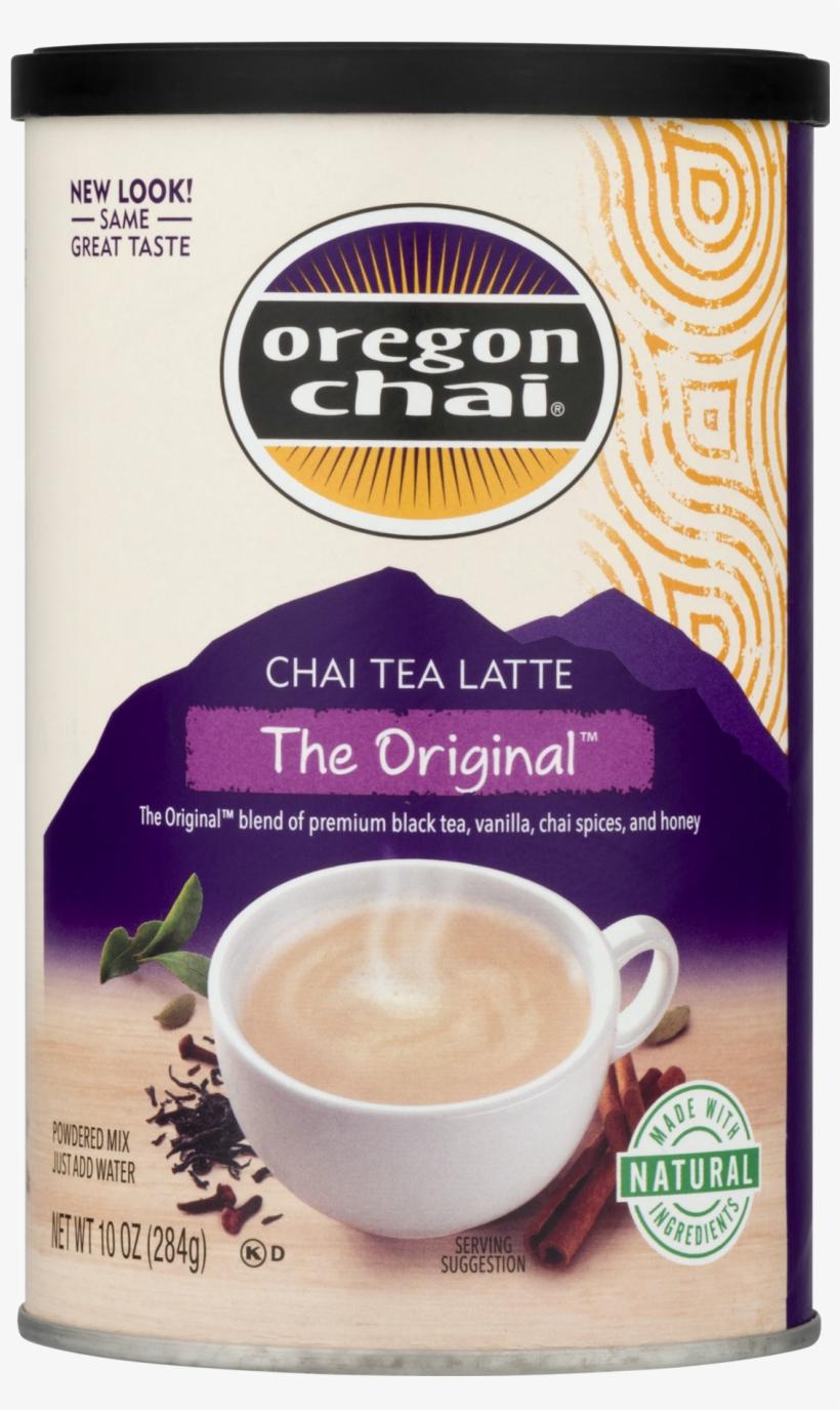 Oregon Chai The Original Chai Tea Latte Powdered Mix, - Oregon Chai Chai Latte Mix - 10 Oz, transparent png #4078423