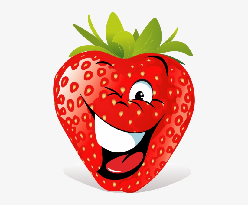 How To Set Use Cartoon Strawberry Face Icon Png - Cartoon ...