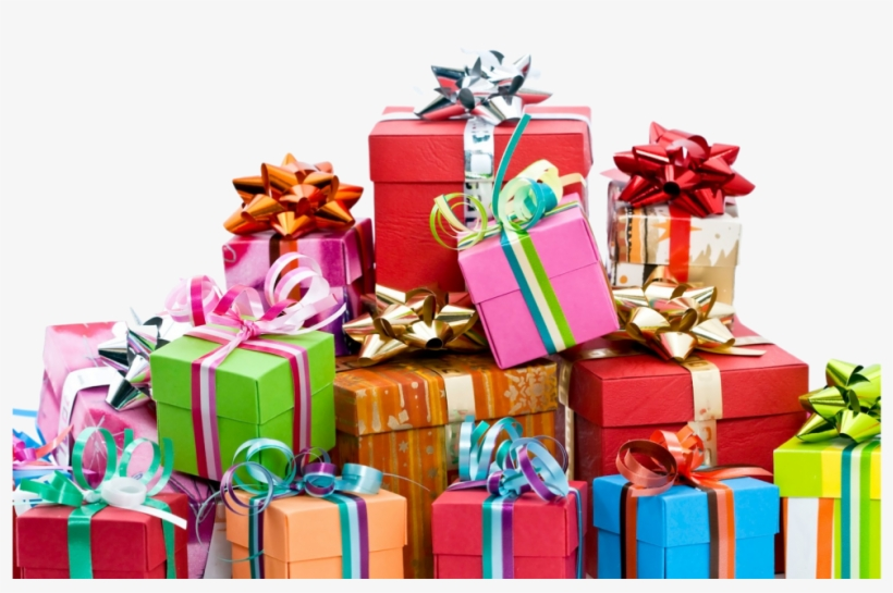 Presente Pile Of Birthday Gifts Png Free Transparent Png Download Pngkey